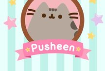 Pusheen :3 / I really like Pusheen the cat, as almost all my friends in Facebook Messenger know...now I want ti collect her funniest and cutest arts!!!