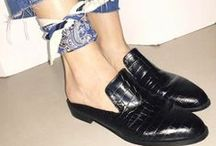 Footwear / All things shoes including mules, slingbacks, sandals and more