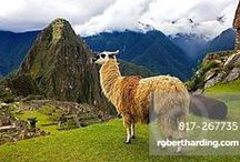 Peru / From dramatic Andean peaks to lush Amazonian rainforest, ancient monuments and coastal desserts, Peru is a paradise for trekkers, history seekers, wildlife lovers and surfers alike.