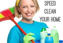 Cleaning Ideas from Wisconsin Homemaker / These are my favorite cleaning tips, ideas, and hacks for home and garden.