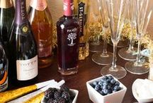 New Year's Eve Party Ideas from Wisconsin Homemaker / There's plenty of glitz and glam on New Year's Eve. Check out these super party ideas for making your gathering the talk of the town.