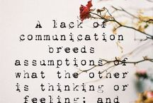 Communication and love
