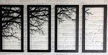 Wanddekoration: Baumzweige im Bilderrahmen / Was für eine wunderbare DIY-Idee für Naturliebhaber: Zweige im Rahmen! Wir haben die schönsten Ideen für die selbstgemachte Wanddekoration aus Zweigen, Ästen oder Holzscheiben und Bilderrahmen gesammelt.  Holen Sie sich ein Stück Natur nach Hause!