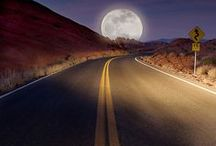 Straight Ahead Or Not  / Would love to get on my Bike and go so cool  / by Steve Sandberg