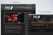 Blogger Branding / A blog to match your website!