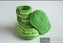 Bačkory, ponožky, návleky / Háčkované a pletené bačkory a ponožky