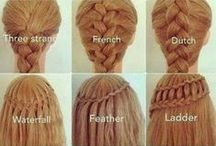 Hairstyles / Different hairstyles to try