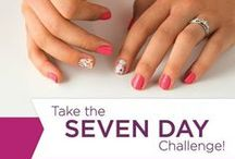 Jamberry 7 day challenge / New to Jamberry?  Try the 7 day challenge.  Post a picture of your Jamberry wraps on day 1, then again on day 7, how do they compare?