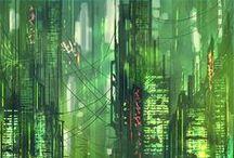 Science-Fiction / Megapolis / by Black Mike