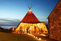 Beautiful Marquees, Tents & Tipis / Weddings & Event Planning ~ Samira Stevenson   www.samirastevenson.com