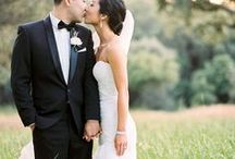 Classic wedding portraits from Jay + Diane's wedding at Sherwood Country Club in Los Angeles, CA / Love these images captured on film from a recent wedding I shot in Southern California! The tall grass was a perfect backdrop for this timeless couple!