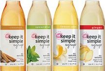 "KISS Products / KISS your old drinks goodbye! This all natural, flavor-infused simple syrup (also known as ""KISS"") began as the quintessential solution to coffeehouse syrups loaded with artificial ingredients and bars lacking fresh mint for their Mojitos.  What sets Keep It Simple Syrup apart from basic, unflavored simple syrup? -Infused with natural flavor -All natural ingredients -Versatile  Learn more at https://keepitsimplesyrup.com/about/."