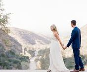 Bohemian Catalina Island Wedding / Bohemian vibes, tropical florals and a stylish couple! Loved working with Britt of Swell Press Paper + her husband, Brian, capturing their California destination wedding at Wrigley Memorial on Catalina Island.