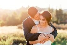 Los Angeles Elopement / It was such a blast to capture this sunset elopement in a wide open field of golden grass in Los Angeles. These two wore casual attire (she's rocking an ivory dress by Who What Wear for Target) and were such gems in front of the camera. It was an honor to capture their love story.