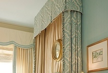 DRAPES & WINDOW TREATMENT / by Linda Staner