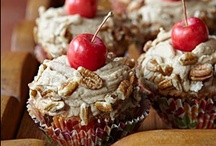 CUPCAKES & CAKES / by Linda Staner