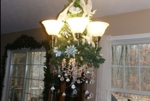 CHRISTMAS   CHANDELIER / by Linda Staner