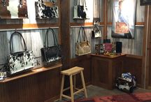 Jen Black Designs Handbags / ...elegant couture from natural hides...  Hand stitched ladies handbags and accessories made from Brazilian Hair On Hides, Amish Horse Bridle Handles, and beautiful fabric linings.