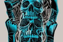 LAILAS CHARMING SKULLS / by Laila Blue