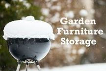 Garden Storage / Even gardens need handy storage solutions and a declutting sometimes!