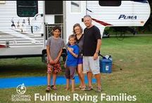 Fulltime RV Families / Families who have ditched suburbia and are traveling and living in Motorhomes, 5th Wheels, Travel Trailers, Buses, Airstreams, and RVs full-time. Are you a Fulltime RV Family? We'd love to add you to this board. Know a Fulltime RV Family? We'd love to meet them. Please send the blog address to ditchingsuburbia@boyink.com.