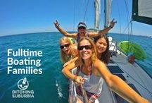 Fulltime Sailing / Boating Families / Families who have Ditched Suburbia to travel and live on a boat full-time. Are you a Fulltime Boating family? We'd love to include you on our board. Do you know a Fulltime Boating family? We'd love to meet them. Please send the blog address to ditchingsuburbia@boyink.com.