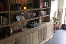Wood made by Civil & Wood / Interieurbouw, houtbewerking, meubels, decoratie, veranda's en maatwerk