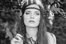 Hippie style by Joanna Jaroszek / #work #women's fashion