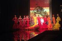 Colección África Simof 2015 / Desfile de Rosapeula Moda Flamenca para la edición 2015 de SIMOF. Complementos Samuel Ortega y baile de Tatiana Garrido. Música A la grupa