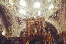 Iglesias de Puebla  / Conoce los diferentes estilos arquitectonicos que Puebla tiene en sus Iglesias.