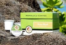 Our Coffee / Nestled along the beautiful slopes of the Mauna Loa volcano on Hawai'i Island, is our prized coffee farm. Kona's nutrient-rich terroir, tropical rain showers, and natural shade provided by afternoon cloud cover, create the ideal growing condition for one of the rarest coffees in the world. Only ripe coffee cherries are meticulously hand-picked, wet-processed, and sun-dried. This perfect combination results in the world's richest, smoothest tasting coffee.