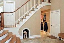 SCHODY / schody, klatka schodowa, komunikacja, oświetlenie, kolor