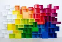KOLOROWE INSPIRACJE / kolor, kolory, kolorowo, tęcza, wnętrze