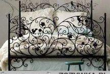 SYPIALNIA / sypialnia, łóżko, oświetlenie, dekoracje, wyposażenie, aranżacja