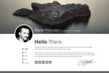 Website Inspiration / Various User Interfaces, useful for Web design and App design.