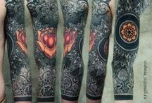 Mandala / Mehndi Tattoos / Beautiful Oriental and Super Intricate Tattoos