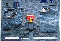 Re-use my old jeans - DIY maken van een oude spijkerbroek