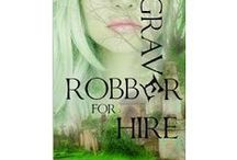 Grave Robber series / Grave Robber for Hire: Urban Fantasy series - Pictorial inspiration and see  #urbanfantasy #paranormal #PNR #UF