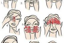 зарядка и массаж для лица
