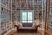 Bookshelfs / I libri, loro non ti abbandonano mai. Tu sicuramente li abbandoni di tanto in tanto, i libri, magari li tradisci anche, loro invece non ti voltano mai le spalle: nel più completo silenzio e con immensa umiltà, loro ti aspettano sullo scaffale.  Amos Oz