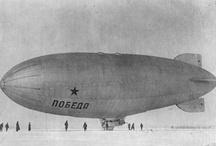 Airships Zeppelins Dirigibles