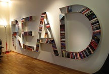 Beautiful Bookshelves / A collection of pins showcasing beautiful and clever bookshelves.