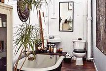 Earthy Bathrooms