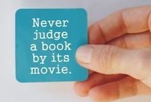 Films inspired by books / Films that have been inspired by books...