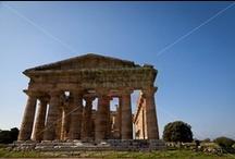 Paestum - Cilento / I templi di Paestum e l'area archeologica con i templi di 2500 anni. http://www.discoverycilento.it/