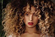 Curly/Kinky/Coily Girls / by Ta'sha Monāe