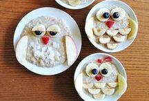 Feeding Vegan Kids / Fun food ideas for feeding vegan kids