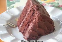 WELCOME HOME / This page was created to honor my Mom and to keep her memory alive. She was the best cook and I bring to you many of the recipes she left me when she moved to Heaven a few years ago. Welcome Home is written to inspire you and touch your heart and soul. Hopefully it will make you laugh and cry and think about the good things in life.