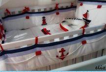 quarto marinheiro/navy / decoração para quarto de bebe.