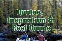 Quotes, Inspiration & Feel Goods / Inspirational and entertaining quote about Rving and the great outdoors.
